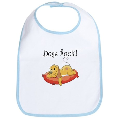 Dogs Rock Bib