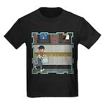 Tom, Tom Piper's Son Kids Dark T-Shirt
