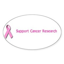 Support Cancer Research Decal