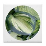 Eskimo Pie Hosta Tile Coaster