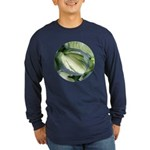 Eskimo Pie Hosta Long Sleeve Dark T-Shirt
