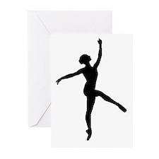 Ballerina Greeting Cards (Pk of 20)