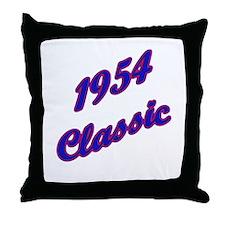 1954 classic Throw Pillow