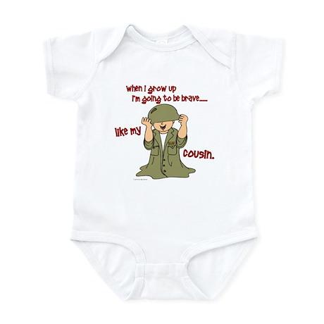 Brave Like My Cousin 1 Infant Bodysuit