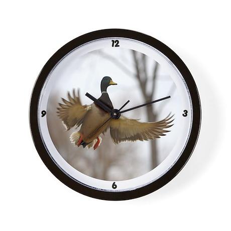 Morning Flight Wall Clock by wildlight_photo