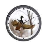 Goose hunting Wall Clocks