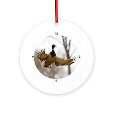 Morning Flight Ornament (Round)