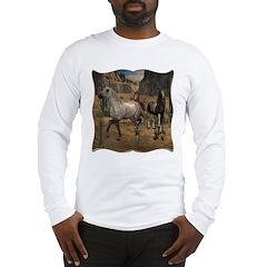 Southwest Horses Long Sleeve T-Shirt