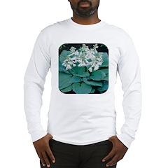 Elegance Hosta Long Sleeve T-Shirt