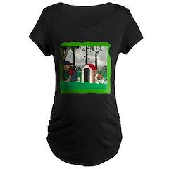 Where, Oh Where? Maternity Dark T-Shirt