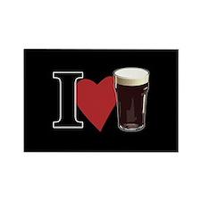 I Love Beer v3 Rectangle Magnet