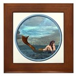The Little Mermaid Framed Tile
