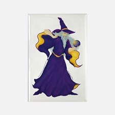 Merlin the Wizard Picture Rectangle Magnet