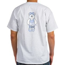 BLUE BALLERINA BEAR T-Shirt