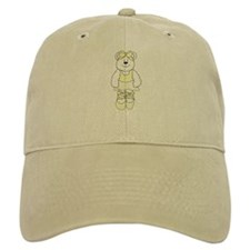 YELLOW BALLERINA BEAR Baseball Cap