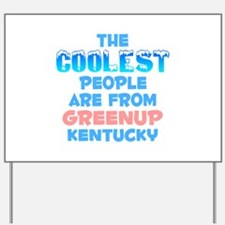 Coolest: Greenup, KY Yard Sign