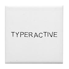 Typeractive Tile Coaster