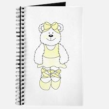 YELLOW BALLERINA BEAR Journal