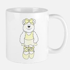 YELLOW BALLERINA BEAR Mug