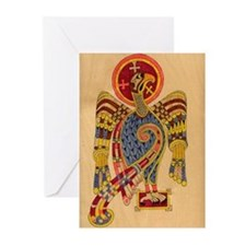 Book of Kells Eagle Greeting Cards (Pk of 10)