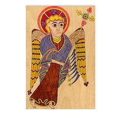 Book of Kells Angel Postcards (Package of 8)