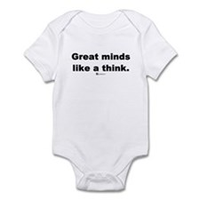 Great minds like a think -  Infant Bodysuit