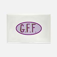 GFF- Gluten Free Forever! Rectangle Magnet