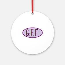 GFF- Gluten Free Forever! Ornament (Round)
