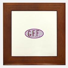 GFF- Gluten Free Forever! Framed Tile
