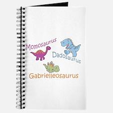 Mom, Dad & Gabrielleosaurus Journal