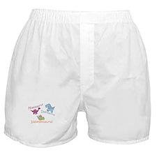 Mom, Dad & Isabelleosaurus Boxer Shorts