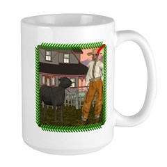 Black Sheep N Farmer Large Mug