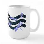 Dragonflies Large Mug