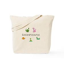 Cassandrasaurus Tote Bag