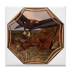 Flight of the Eagle Tile Coaster