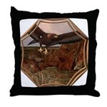 Flight of the Eagle Throw Pillow