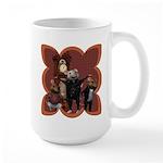 Hickory, Dickory, Dock Large Mug