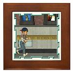 Tom, Tom Piper's Son Framed Tile
