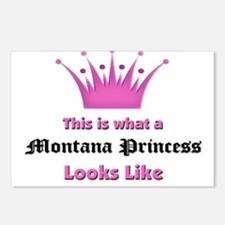 This is what a Montana Princess Looks Like Postcar