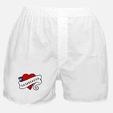 Casablanca tattoo heart Boxer Shorts