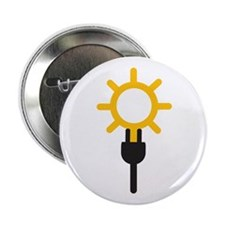 """Embrace solar power 2.25"""" Button"""