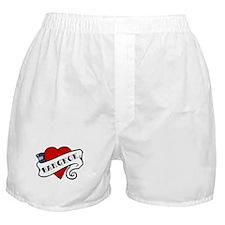 Bangkok tattoo heart Boxer Shorts