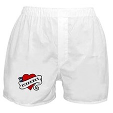 Istanbul tattoo heart Boxer Shorts