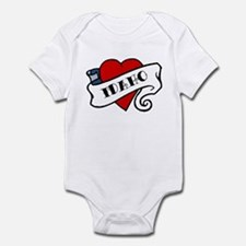 Idaho tattoo heart Infant Bodysuit