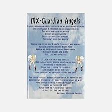 Rectangle MX Guardian Angels Magnet