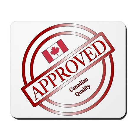 Canadian Approved Quality Stamp Mousepad