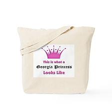 This is what a Georgia Princess Looks Like Tote Ba