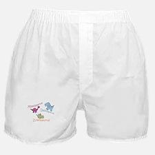 Mom, Dad & Zoeosaurus Boxer Shorts