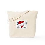 Longmont tattoo heart Tote Bag