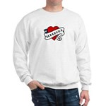 Longmont tattoo heart Sweatshirt